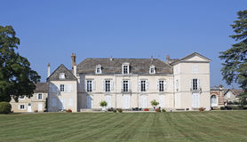 Chateau meursault Royalty Free Stock Photo