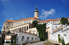 Chateau of Mikulov Royalty Free Stock Image