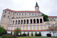 Chateau Mikulov, Czech Republic, Europe Royalty Free Stock Photos