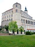 Chateau Mikulov, Tjeckien, Europa Arkivbild