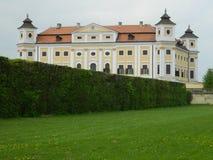 Chateau Milotice, Tjeckien Arkivbild
