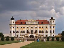 Chateau Milotice, Tsjechische Republiek Royalty-vrije Stock Foto