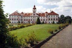 Chateau Mnichovo Hradiste Stock Images