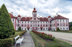 Chateau Mnichovo Hradiste, Czech republic Stock Images