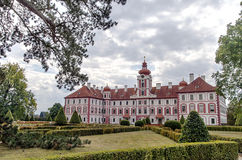 Chateau Mnichovo Hradiste, Czech republic Stock Photo