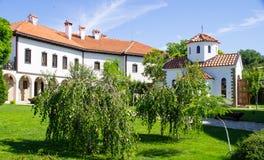 Chateau - a modern farm in the Bulgarian national style Stock Photos