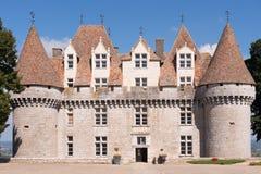 Chateau Monbazillac Royaltyfri Fotografi