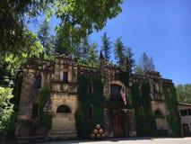Chateau Montelena-Weinkellerei Lizenzfreie Stockbilder