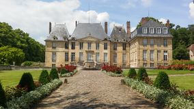 Chateau of Montgeroult Stock Photos