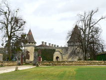 Chateau Mouchac, Grezillac ( France ) Royalty Free Stock Images