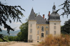 Chateau Neuf De Vertrieu. This is the newer castle in the small village of Vertrieu in France. The castle dates back to the 17th century Stock Photography