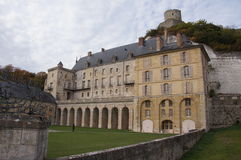 Chateau in Normandie stockbild