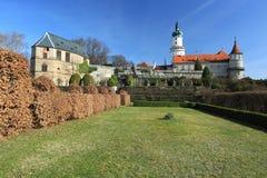 Chateau Nove Mesto nad Metuji Stockbild
