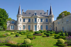 Chateau Palmer, medoc, bordeaux, france stock photography