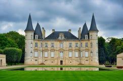 Chateau Pichon Longueville Baron Stock Image