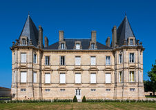 Chateau Pichon Longueville in Bordeaux region in France. Stock Photography