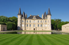 Chateau Pichon Longueville Royalty Free Stock Photography