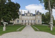 Chateau Pichon Longueville Stock Images