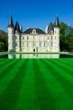 Chateau Pichon Longueville is a famous wine estate of Bordeaux Royalty Free Stock Photos