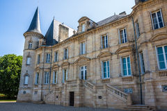 Chateau Pichon Longueville is one of the famous vine chateau Royalty Free Stock Photo