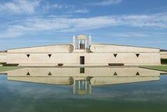 Chateau Pichon-Longueville  Pond refelection Pauillac Stock Photo