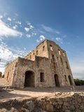Chateau of Pierre-Napoleon Bonaparte between Calvi and Galeria i Stock Photo