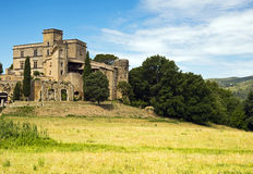 Chateau in provence Stock Photography