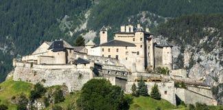 Chateau-Queyras Stock Photography