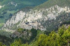 Chateau-Queyras Royalty Free Stock Photo