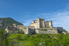 Chateau-Queyras Stock Images