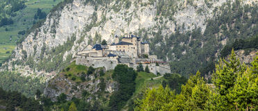 Chateau-Queyras Royalty Free Stock Photo