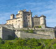 Chateau-Queyras Stock Photography