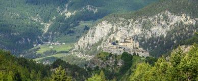 Chateau-Queyras Stock Image