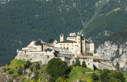 Chateau-Queyras Stock Photo