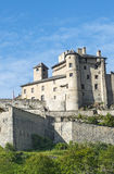 Chateau-Queyras Royalty Free Stock Photography