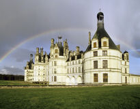 Chateau rainbow Royalty Free Stock Photography