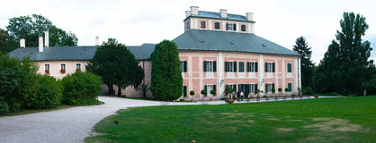 Chateau Ratiborice Stock Photography
