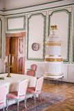 Chateau room Royalty Free Stock Photos