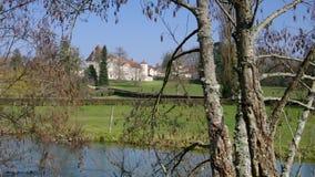 Chateau Saint-Seine-sur-Vingeanne stock video footage