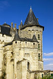 Chateau Saumur. The Chateau de Saumur was originally constructed as a fortified stronghold stock images