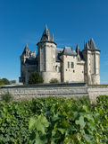 Chateau in Saumur Royalty Free Stock Photography