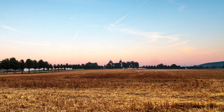 At chateau Seehof in the morning. Picture of chateau Seehof near Bamberg in Bavaria in the morning Stock Photos