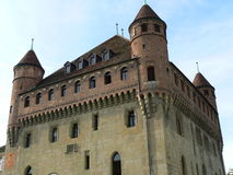 Chateau St-Marie, Lausanne ( Suisse ) Royalty Free Stock Photos