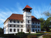 Chateau in Stara Ves Royalty Free Stock Images