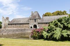Chateau storico in Normandia Francia Fotografia Stock Libera da Diritti