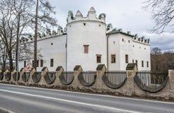 Chateau Strazky, Slovak republic. Beautiful chateau Strazky, Slovak republic. Cultural heritage. Architectural theme royalty free stock photos