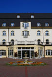 Chateau style hotel Stock Image