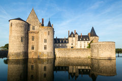 The chateau of Sully-sur-Loire, France Stock Images