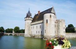 Chateau of Sully-sur-Loire, France. Le chateau of Sully-sur-Loire, France Royalty Free Stock Images
