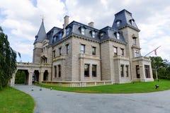 Chateau-sur-MER - Newport, Rhode Island Royaltyfria Bilder